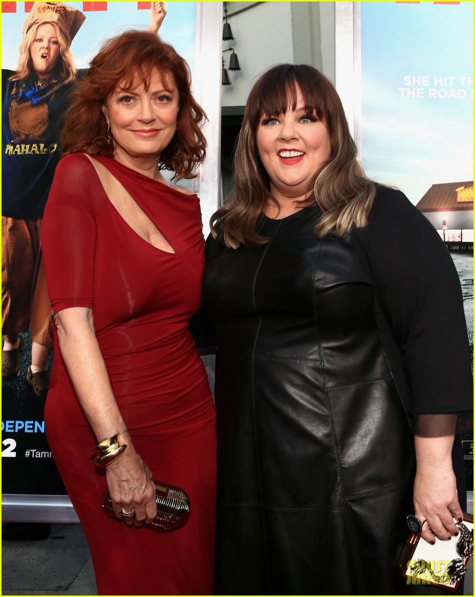 melissa mccarthy susan sarandon bring tammy to hollywood 043147420