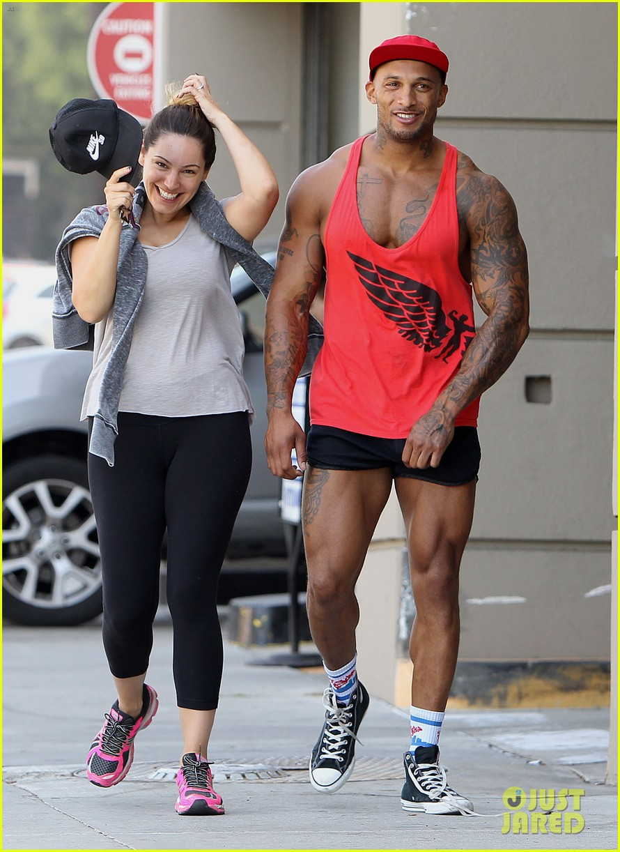 kelly brook fiance david mcintosh should always go shirtless 05