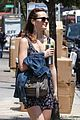 leighton meester uses uber to get around new york 04