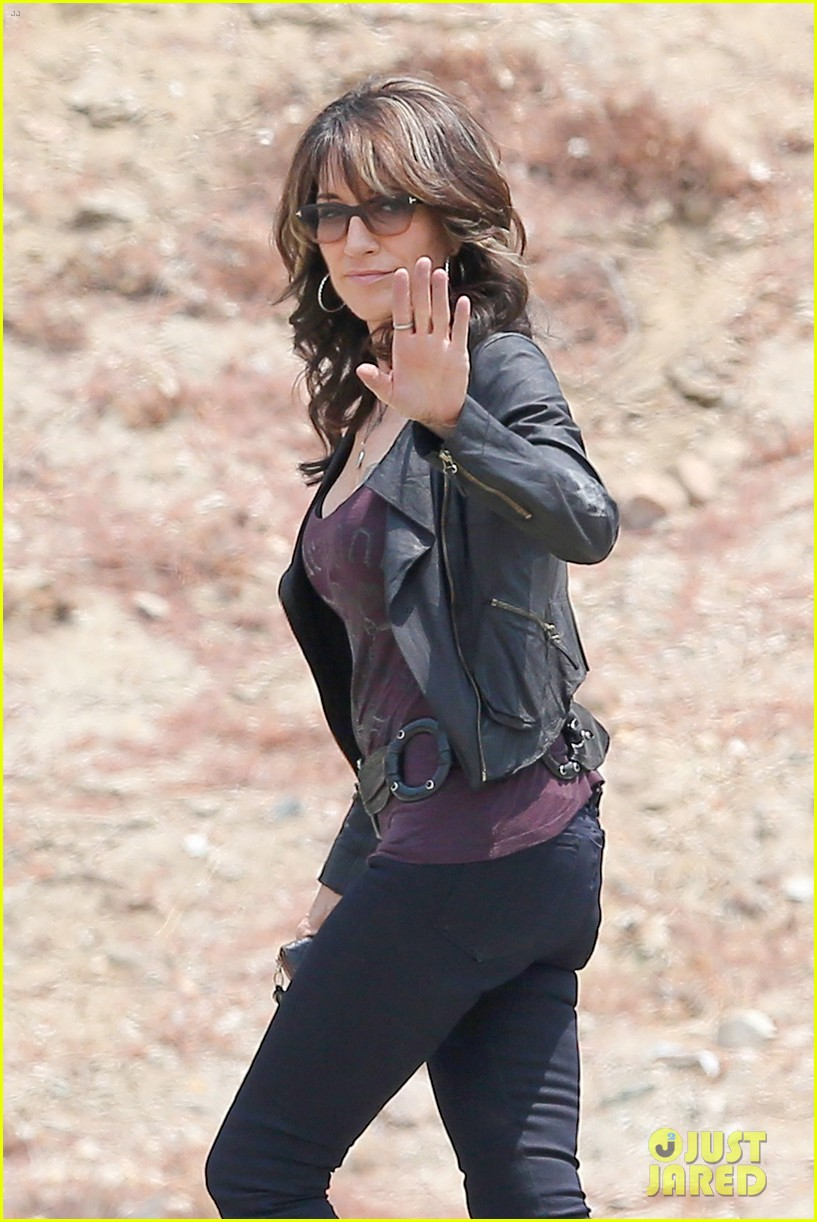 Lea Michele Gets Into Her Waitress Uniform for u0027Sons of Anarchyu0027  sc 1 st  Just Jared & Lea Michele Gets Into Her Waitress Uniform for u0027Sons of Anarchy ...