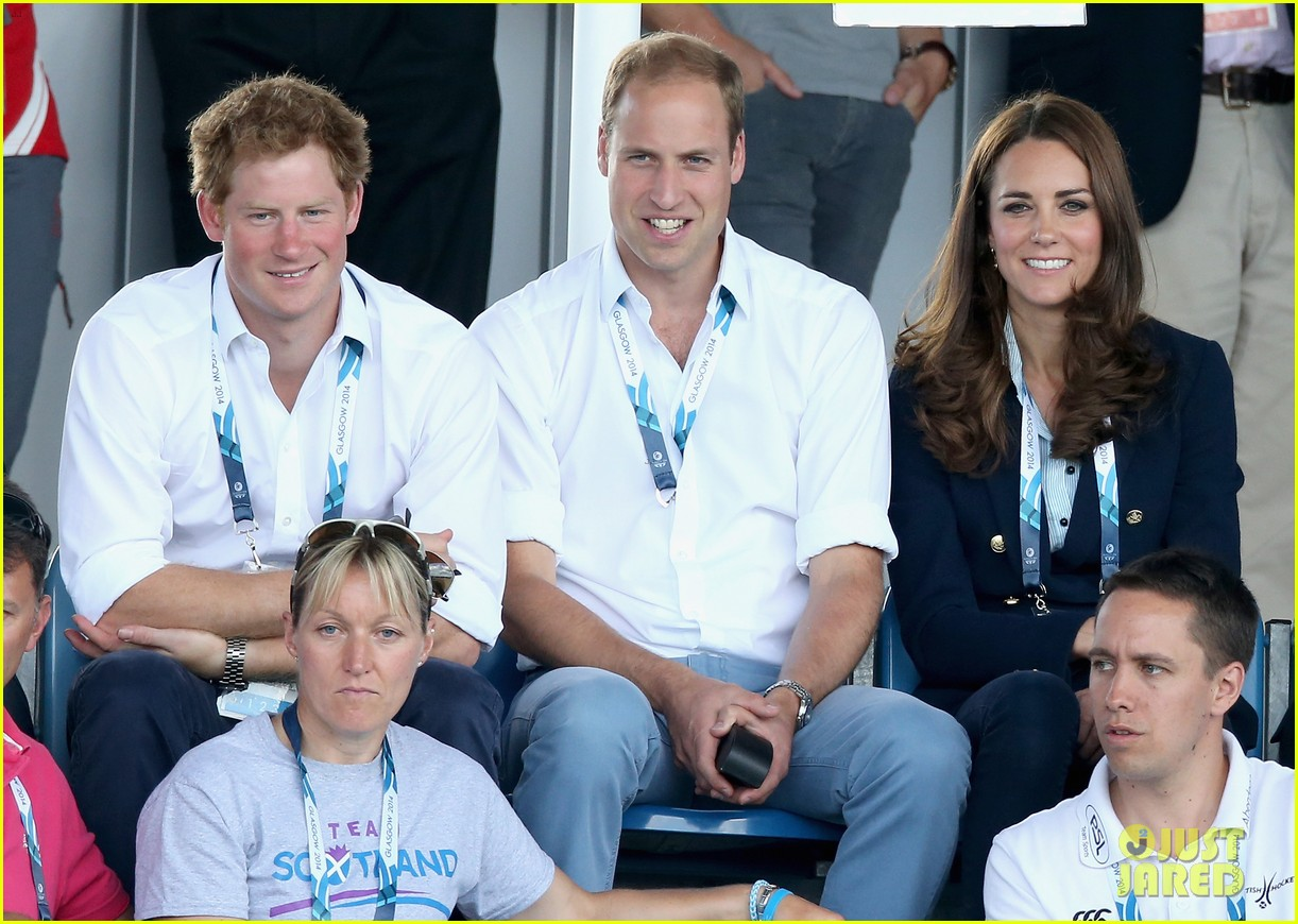 kate middleton prince william harry commonwealth games 083166001