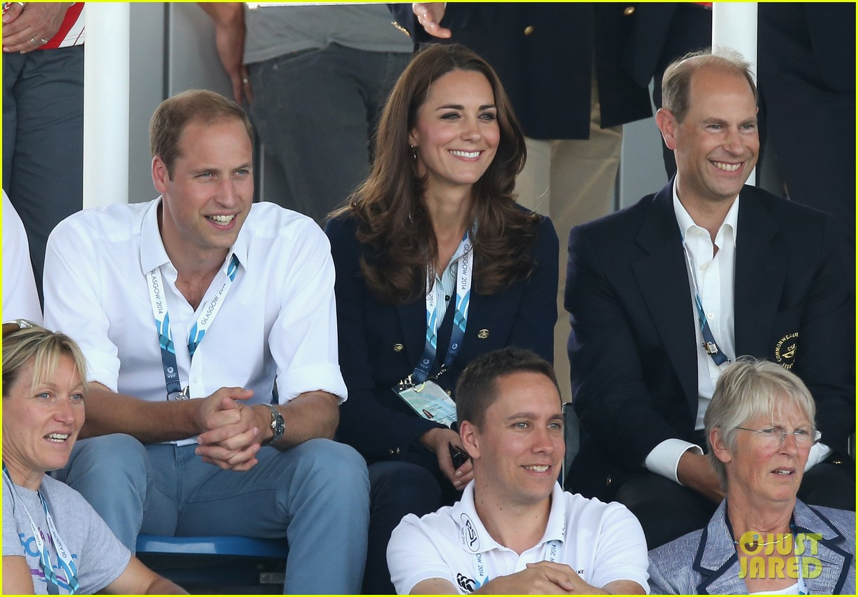 kate middleton prince william harry commonwealth games 153166008
