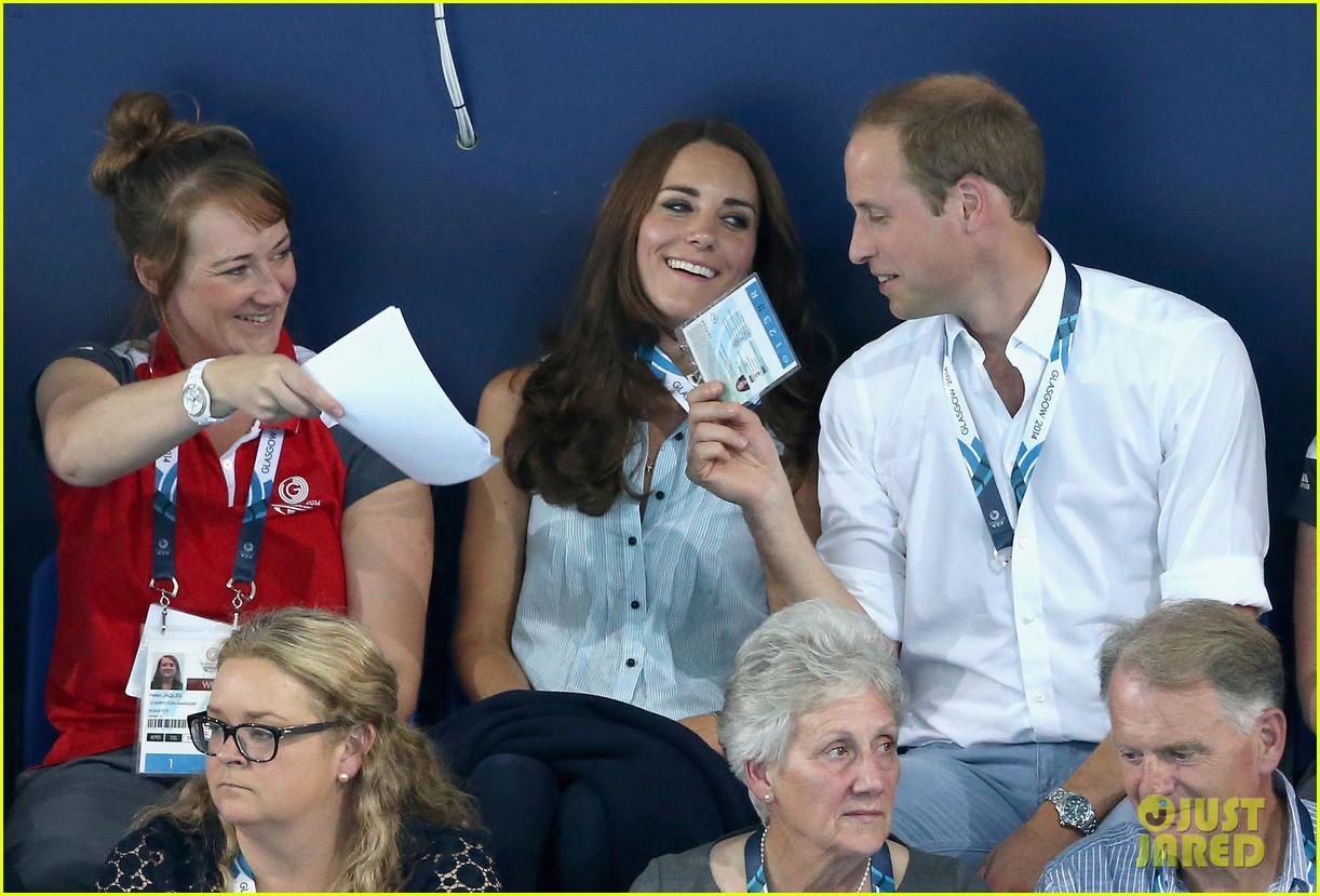 kate middleton prince william harry commonwealth games 213166014