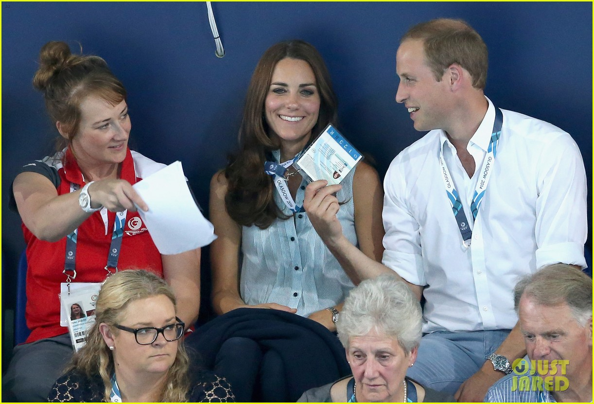 kate middleton prince william harry commonwealth games 223166015