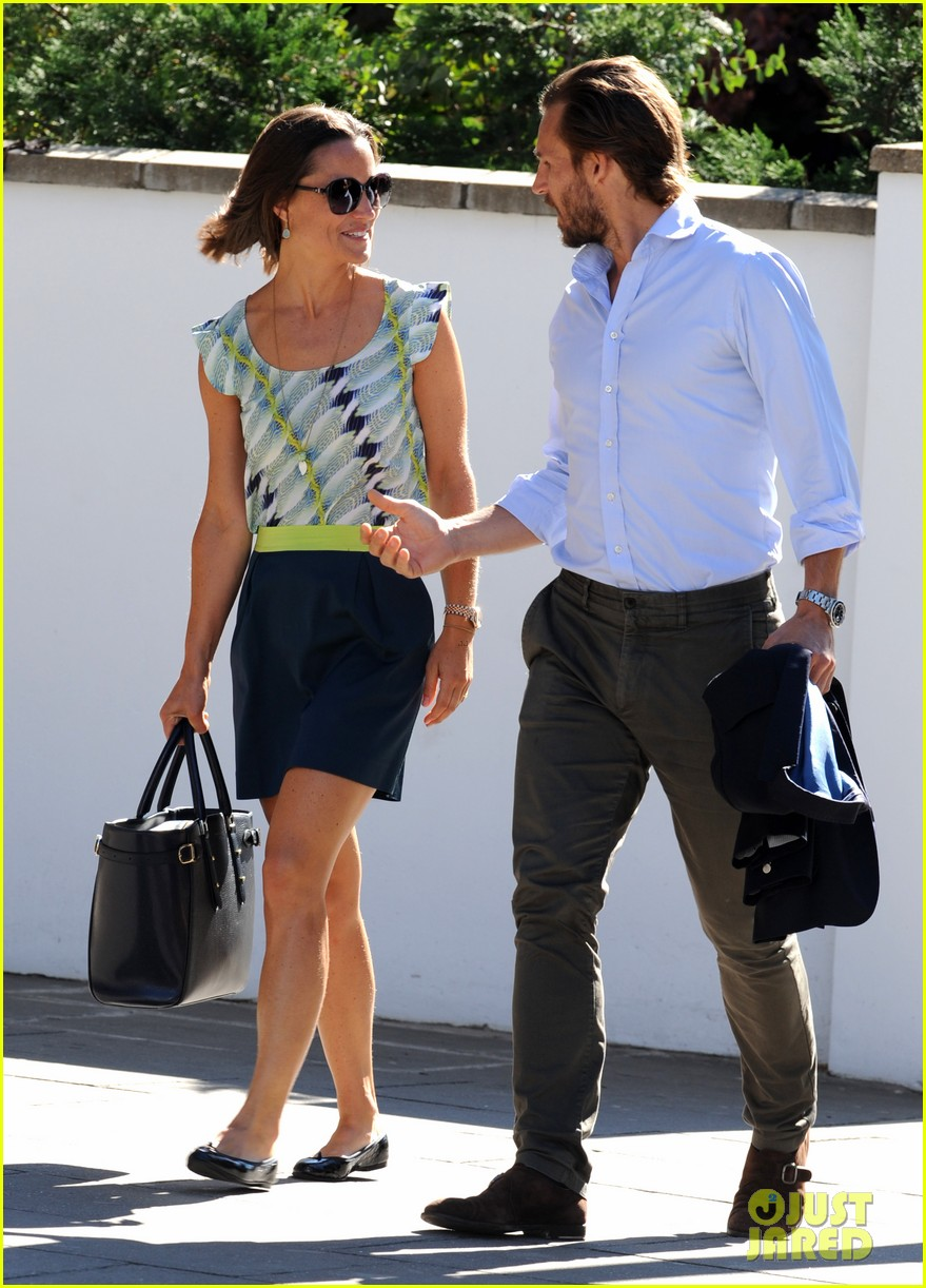pippa middleton handsome pal make her laugh 143149170