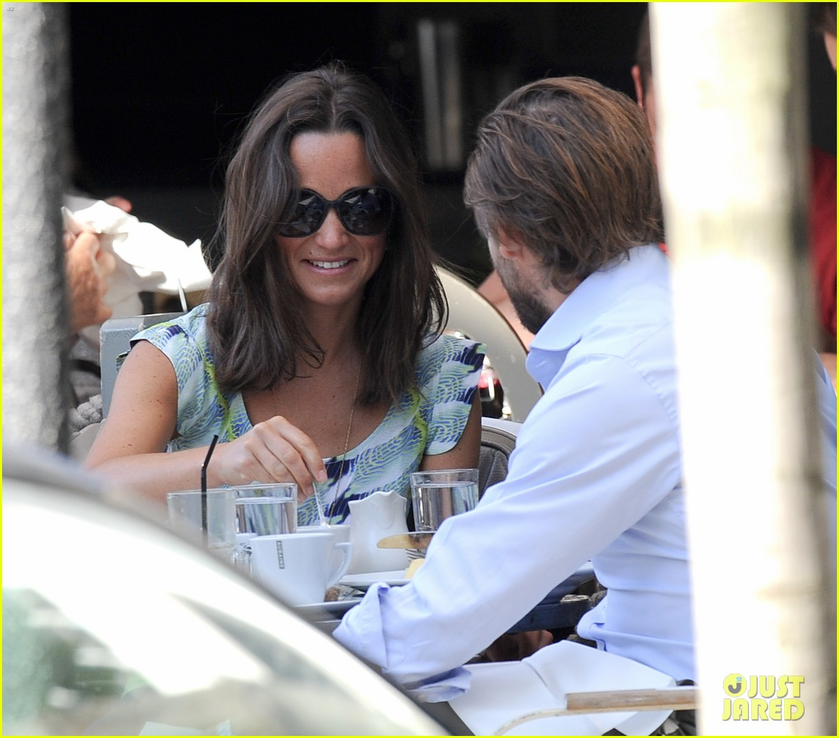pippa middleton handsome pal make her laugh 153149171