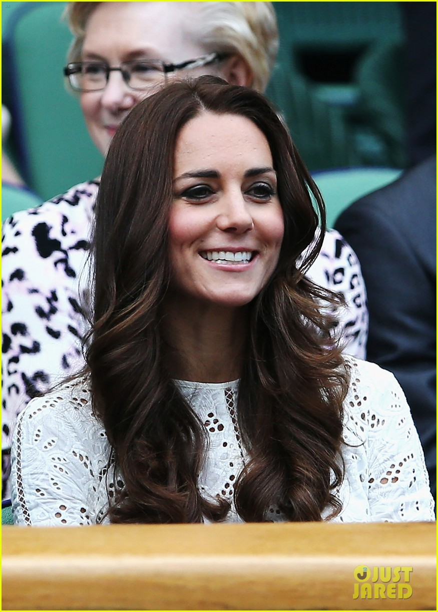 kate middleton prince william cheer on wimbledon 01