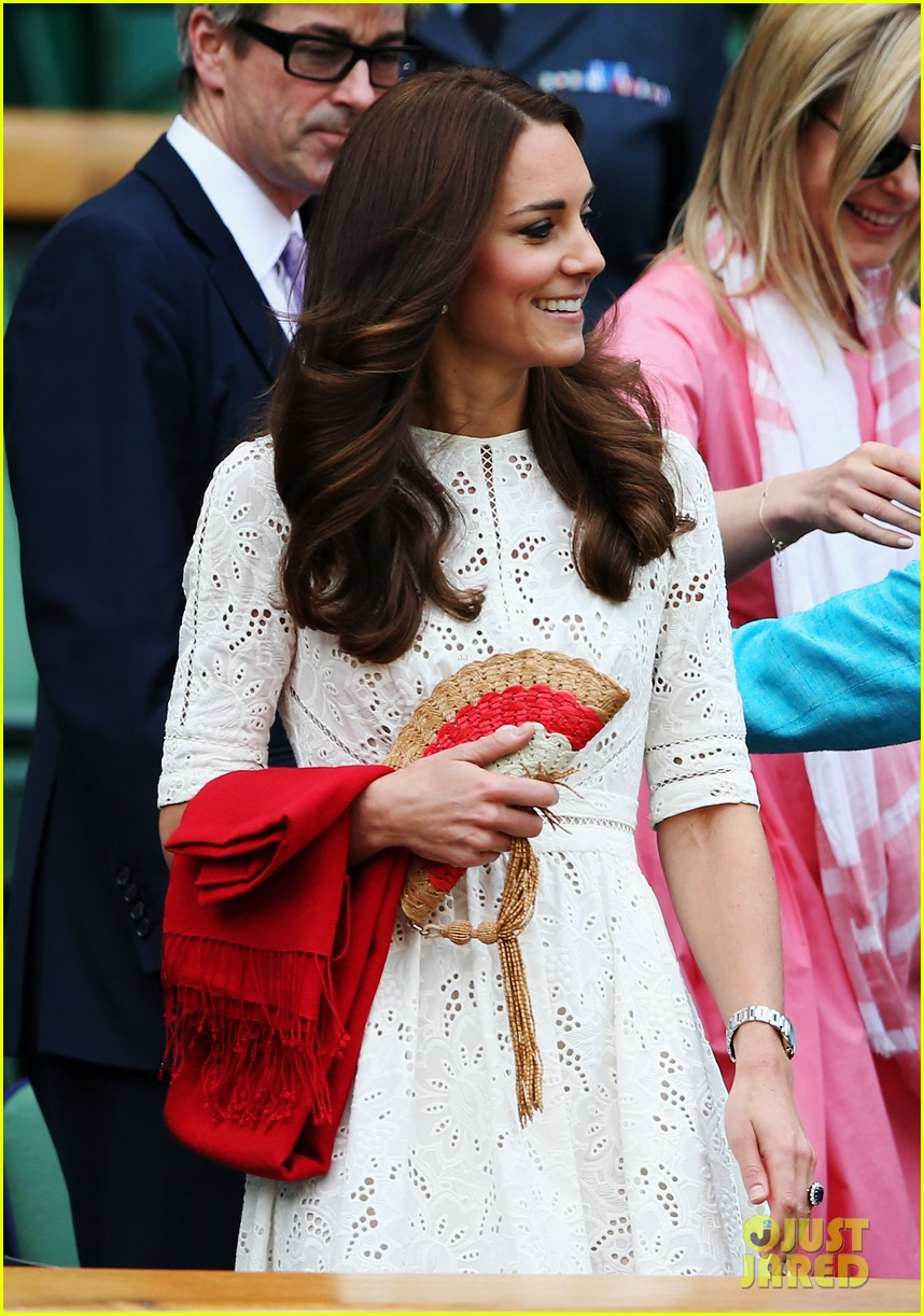 kate middleton prince william cheer on wimbledon 083148745