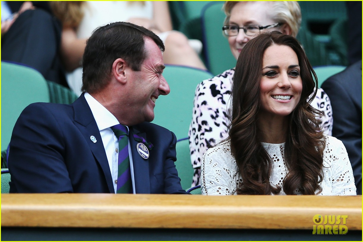 kate middleton prince william cheer on wimbledon 113148748