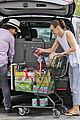 milla jovovich grocery trip friend 30