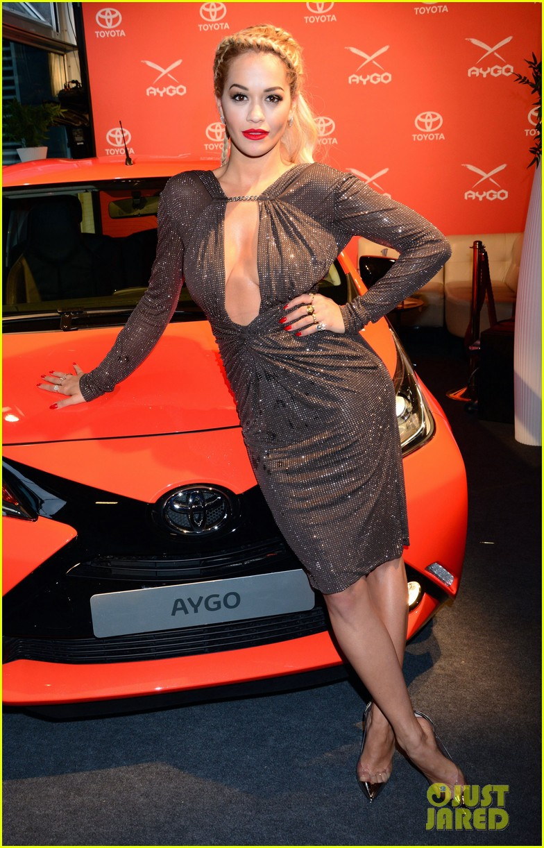 rita ora premieres the new toyota aygo in berlin 07