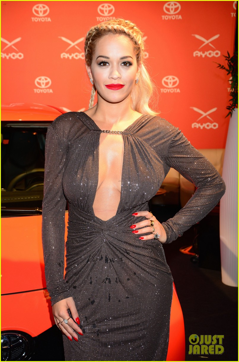 rita ora premieres the new toyota aygo in berlin 133148787