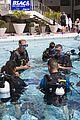 prince harry polo prince william snorkeling pool 06