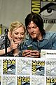 norman reedus andew lincoln walking dead to comic con 05