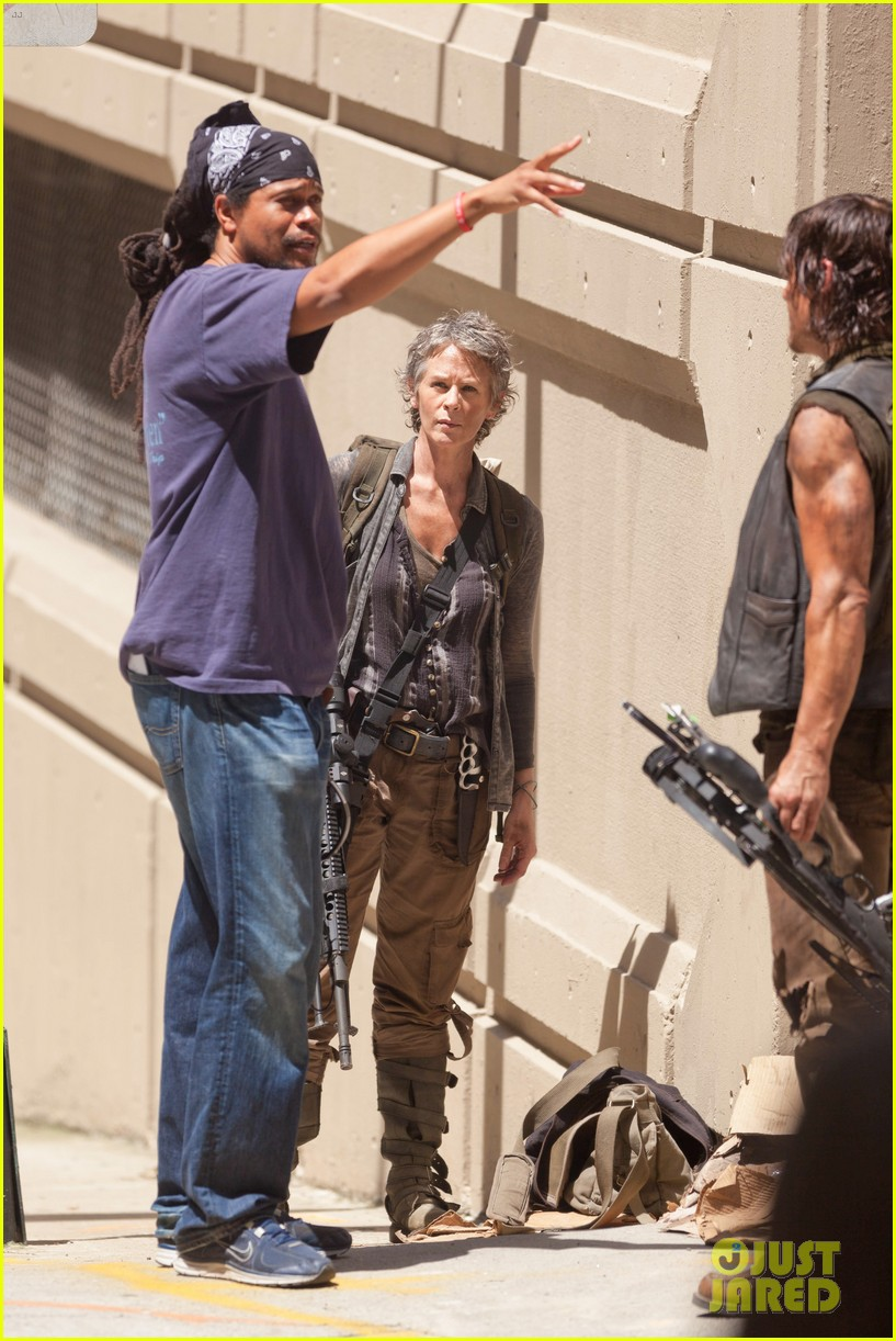 walking dead norman reedus melissa mcbride season five 10