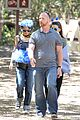 nicole richie rocks blue tutu overalls during hike 01