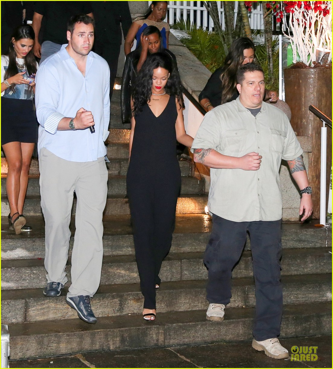 rihanna full on brazilian bbq before world cup party 033154229