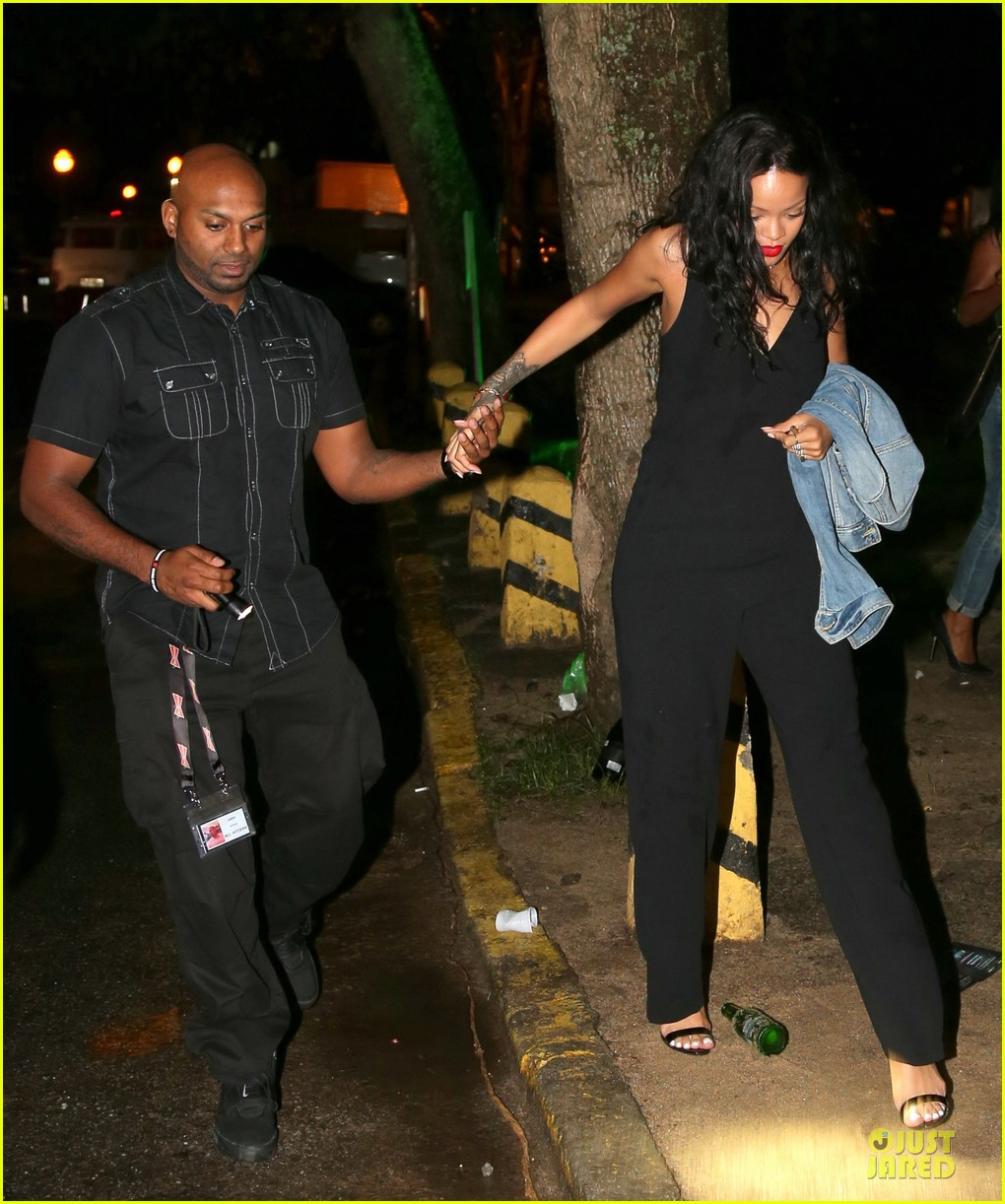 rihanna full on brazilian bbq before world cup party 303154256