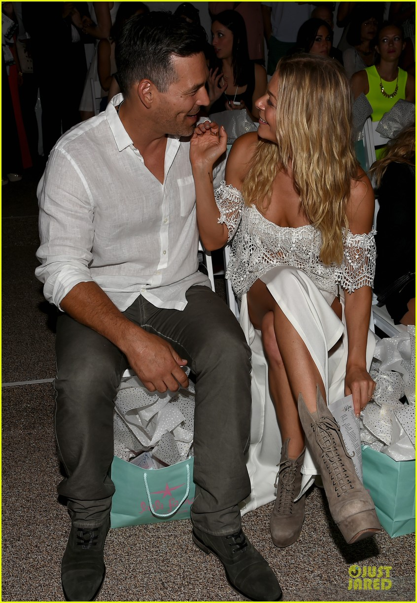 leann rimes match in white at luli fama show 063160659