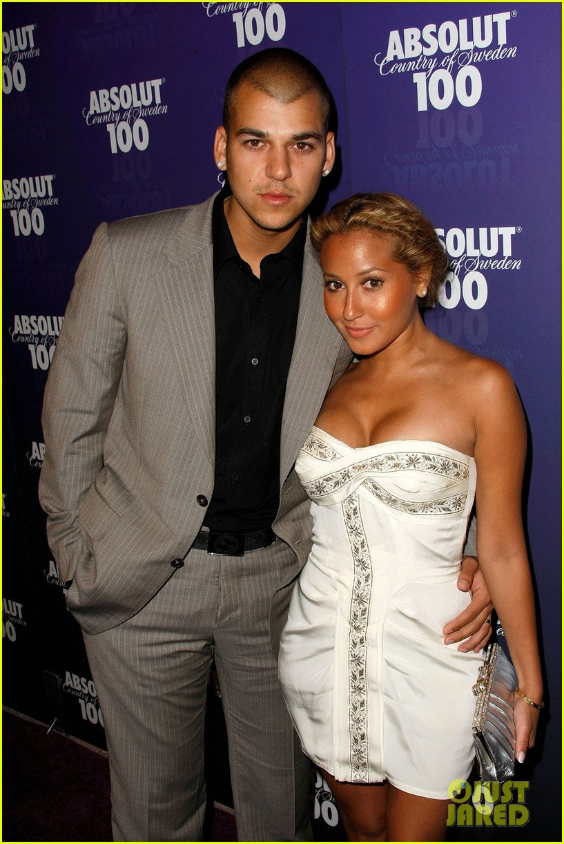 Who did adrienne bailon dating after rob kardashian