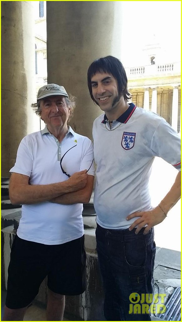 sacha baron cohen gets into character for grimsby 023149786