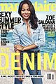 zoe saldana talkes relationships with marie claire mag 02