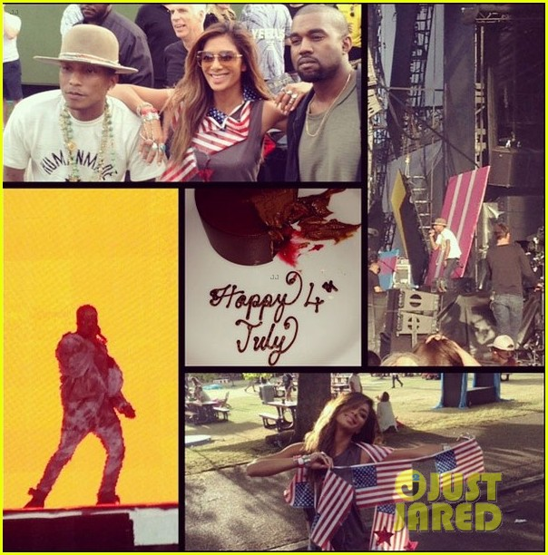 nicole scherzinger spent july 4th with kanye west in london 043149771