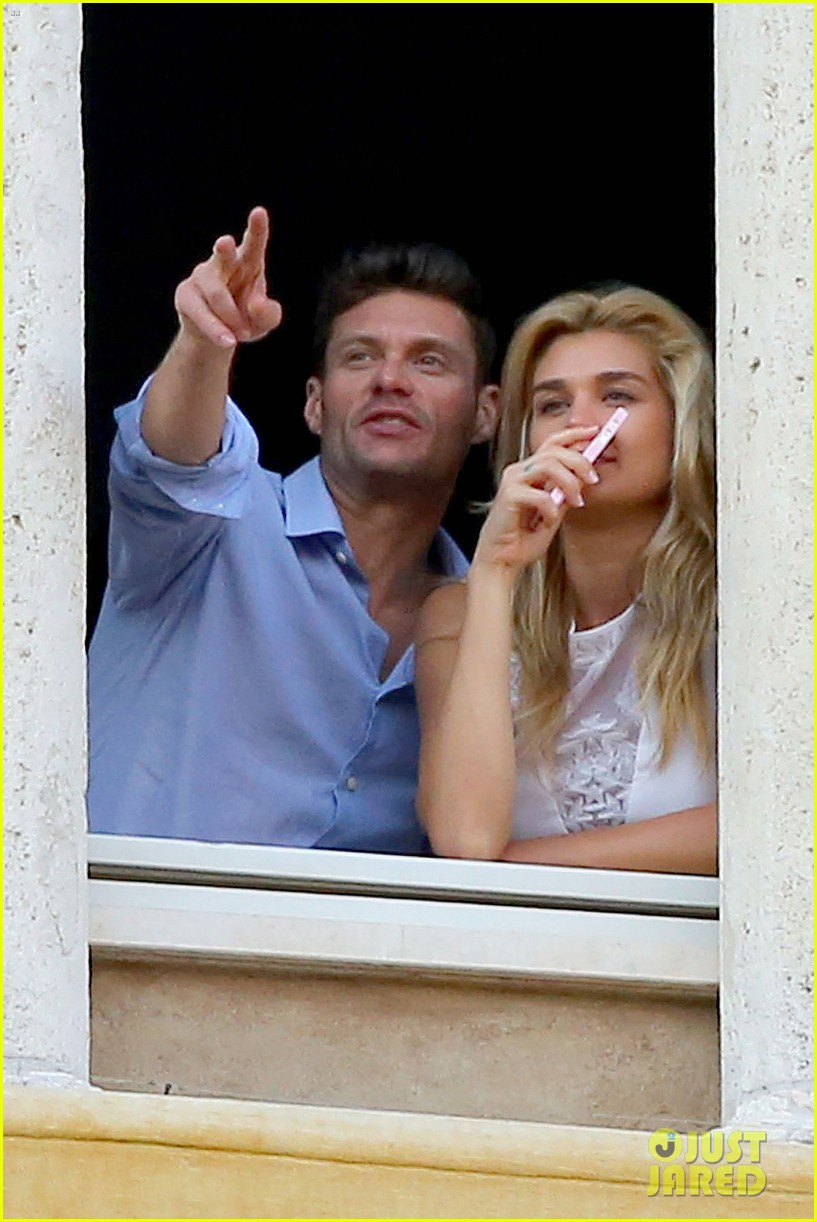 ryan seacrest cozies up to girlfriend shayna taylor 073149648