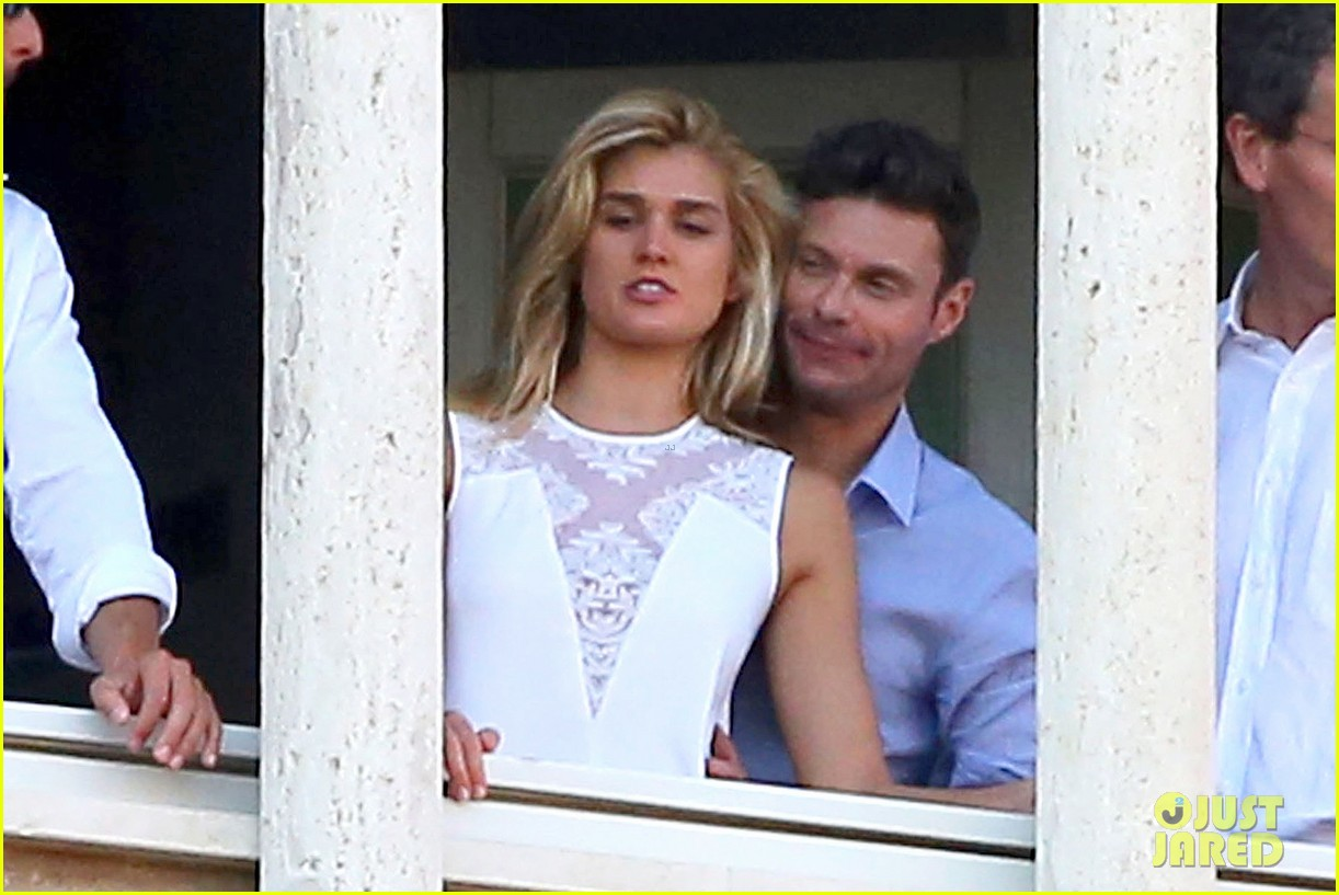 ryan seacrest cozies up to girlfriend shayna taylor 163149657