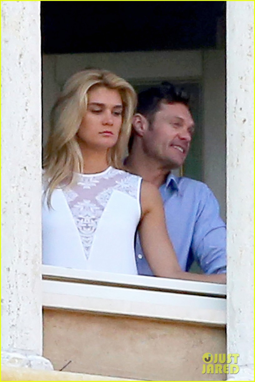 ryan seacrest cozies up to girlfriend shayna taylor 25