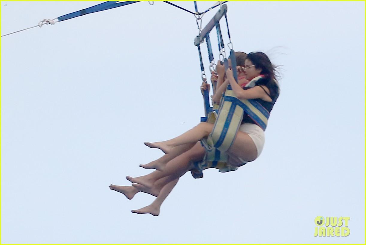 selena gomez jetskis parasailing 22nd bday 113161720