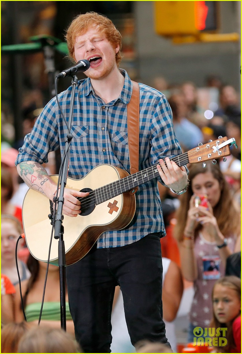 ed sheeran today show fourth of july 013149533