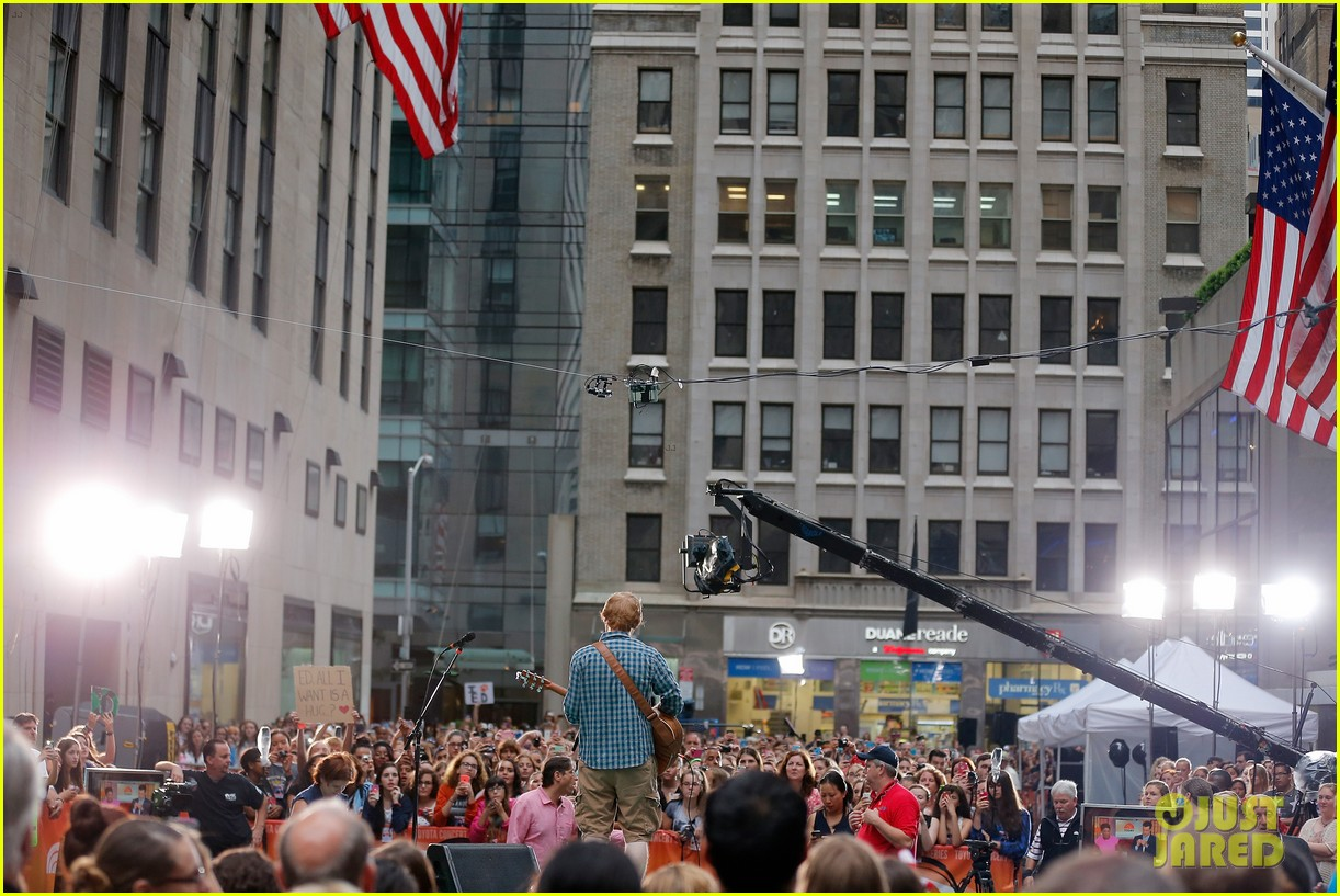 ed sheeran today show fourth of july 073149539