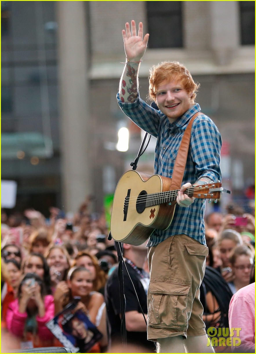 ed sheeran today show fourth of july 083149540