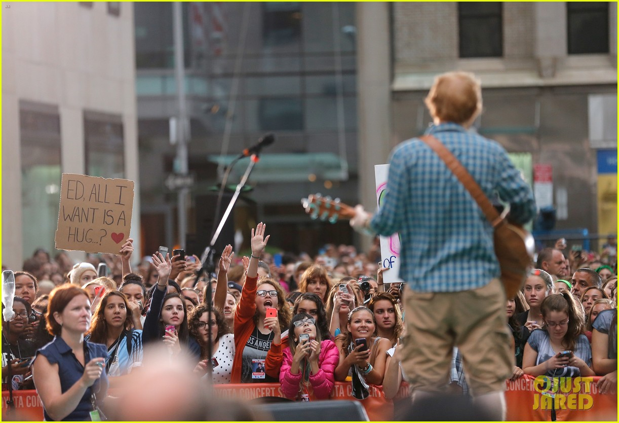 ed sheeran today show fourth of july 113149543