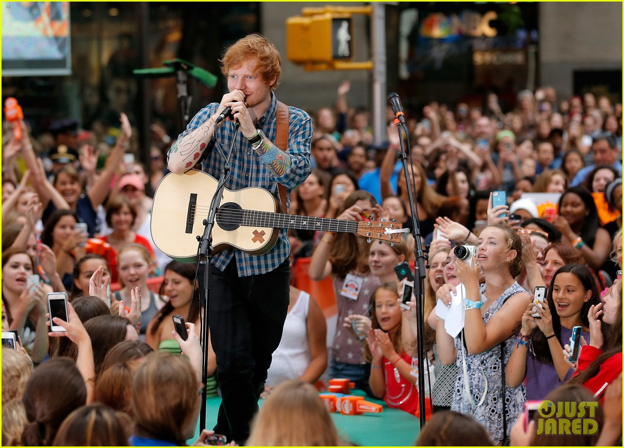 ed sheeran today show fourth of july 143149546