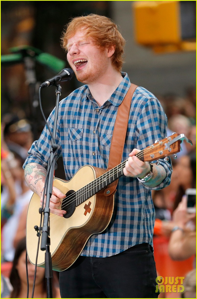 ed sheeran today show fourth of july 153149547