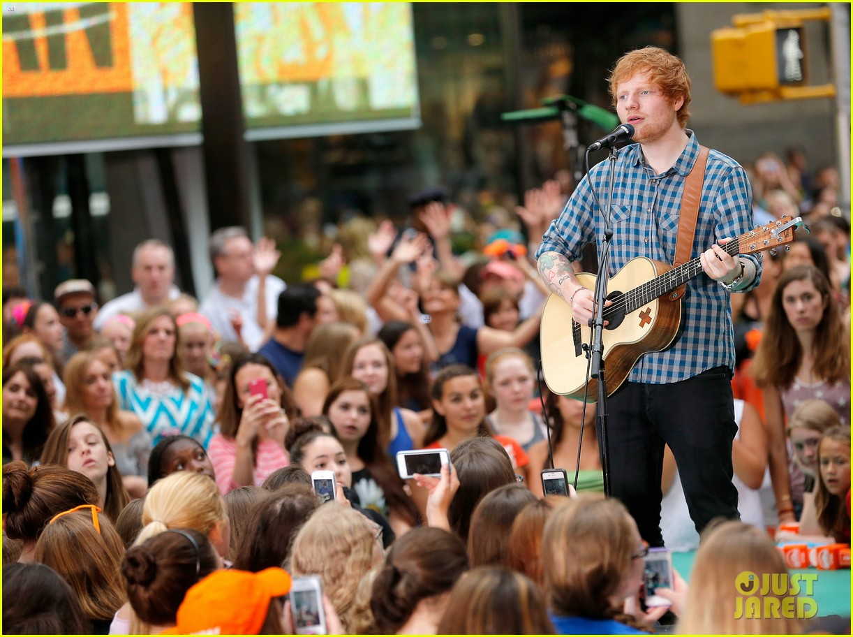 ed sheeran today show fourth of july 183149550