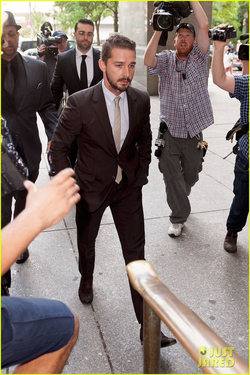 shia labeouf appears in court working out a plea deal for last months arrest 033162921