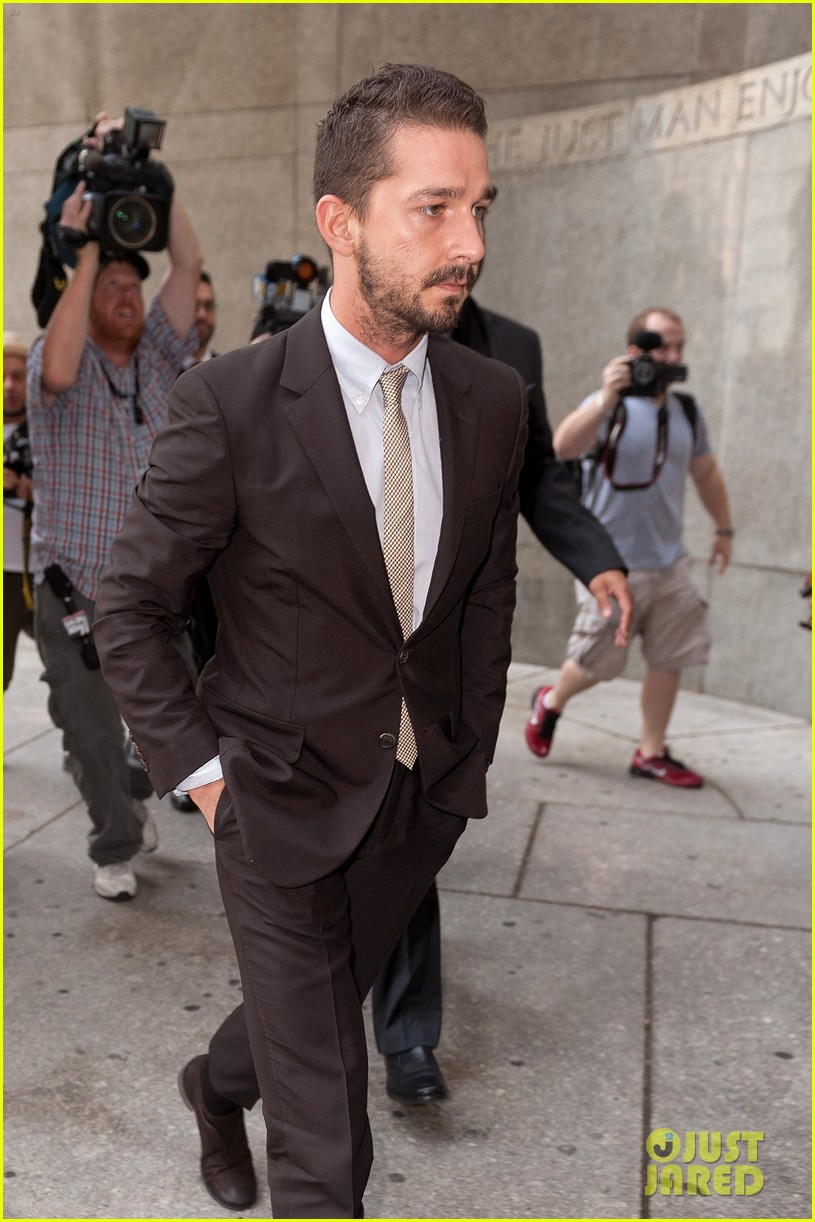 shia labeouf appears in court working out a plea deal for last months arrest 053162923