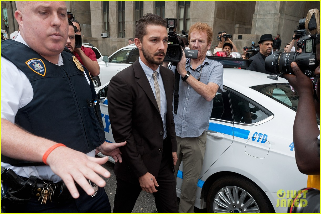 shia labeouf appears in court working out a plea deal for last months arrest 093162927