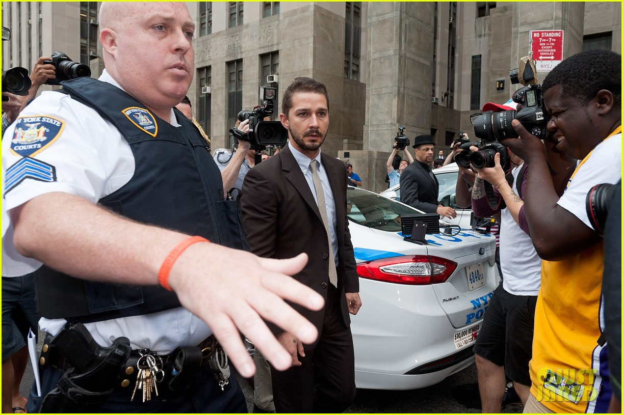 shia labeouf appears in court working out a plea deal for last months arrest 103162928