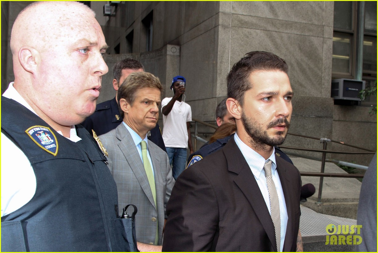 shia labeouf appears in court working out a plea deal for last months arrest 123162930