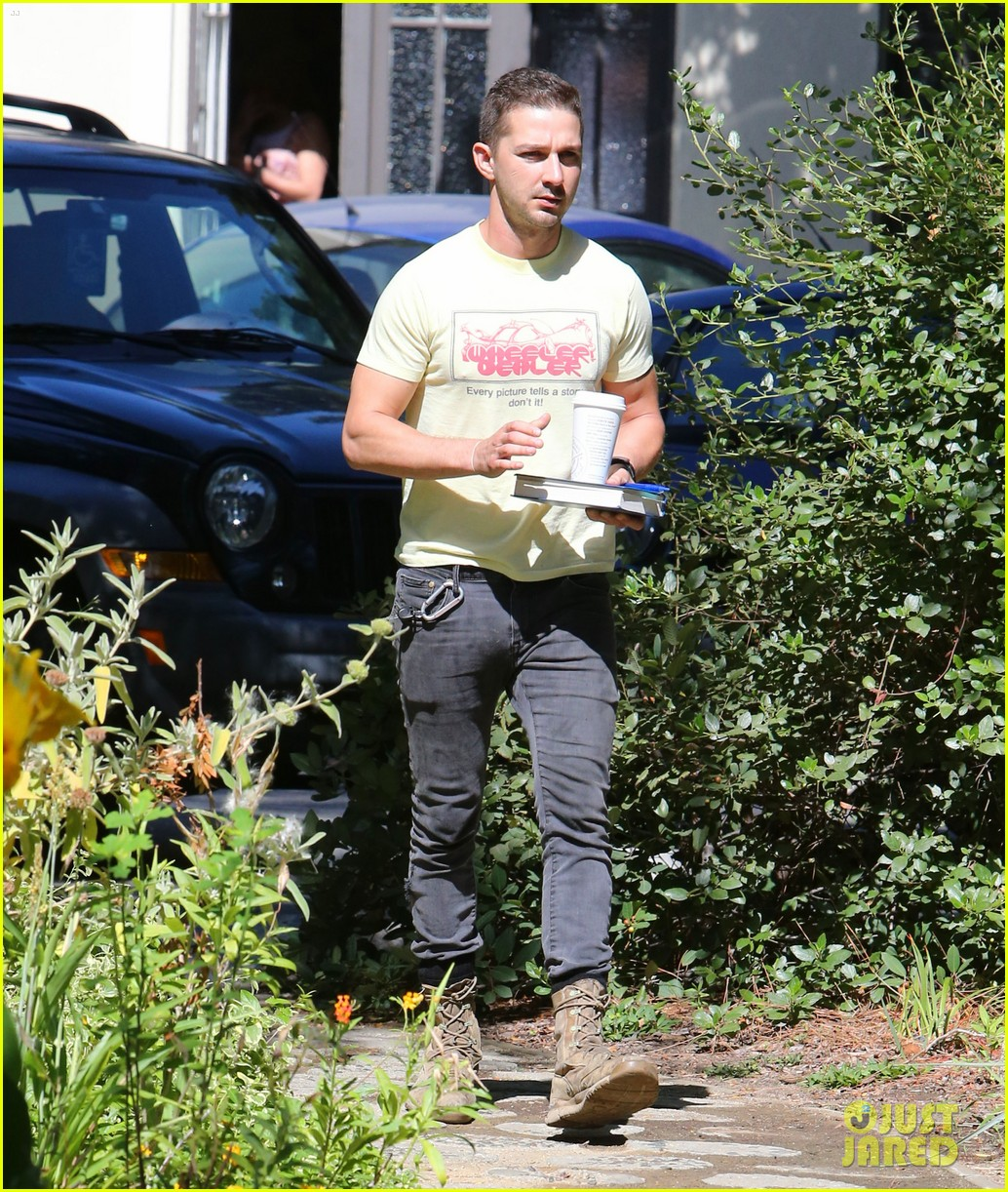 shia labeouf keeps up his daily routine 063151776