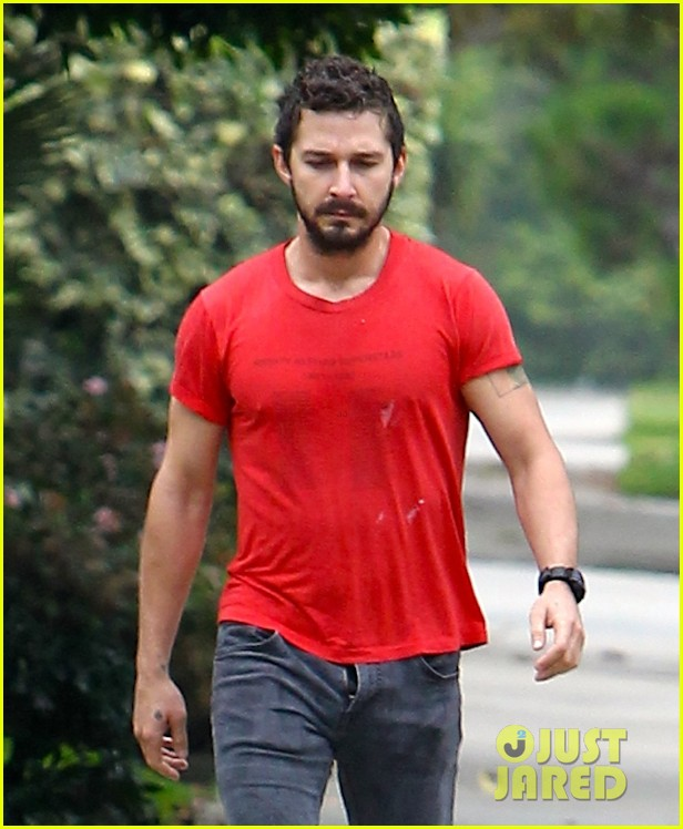 shia labeouf forgets to zip his fly 023148365