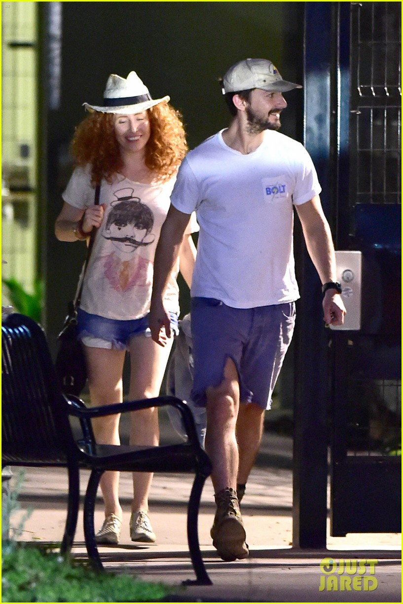shia labeouf steps out smiling despite rehab reports 053147709