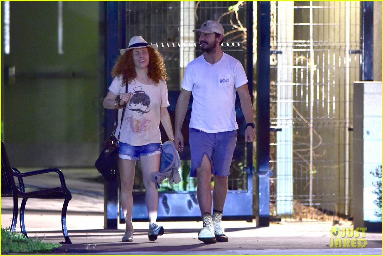 shia labeouf steps out smiling despite rehab reports 103147714