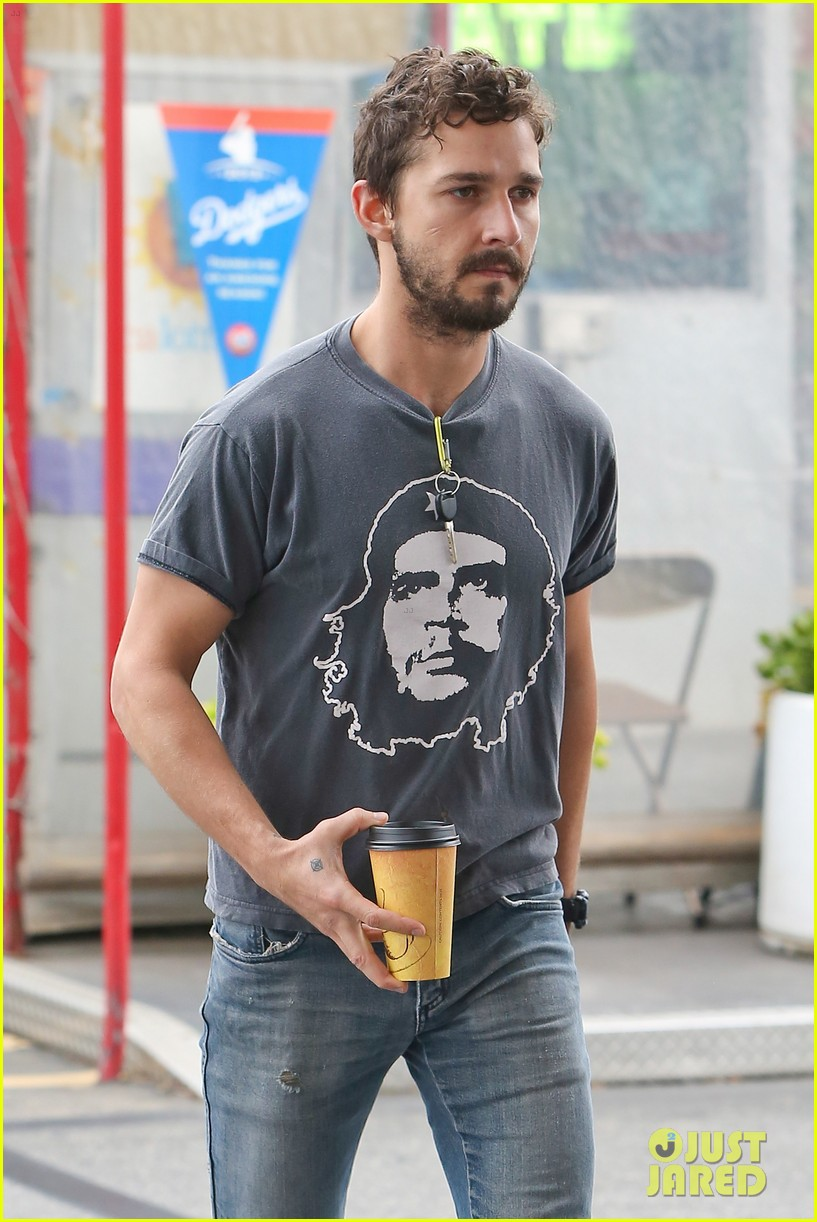 shia labeouf steps out smiling despite rehab reports 153147719