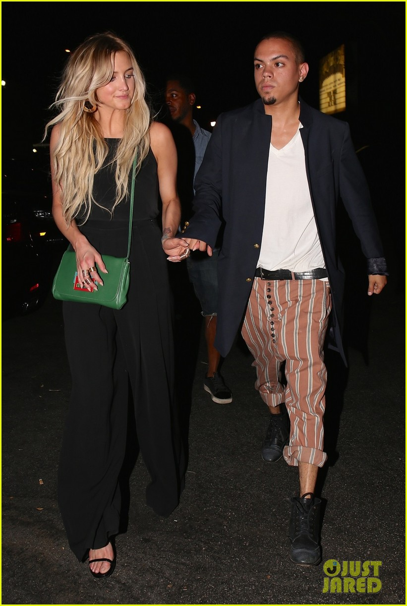 ashlee simpson evan ross are stylish duo for dba night out 033152189