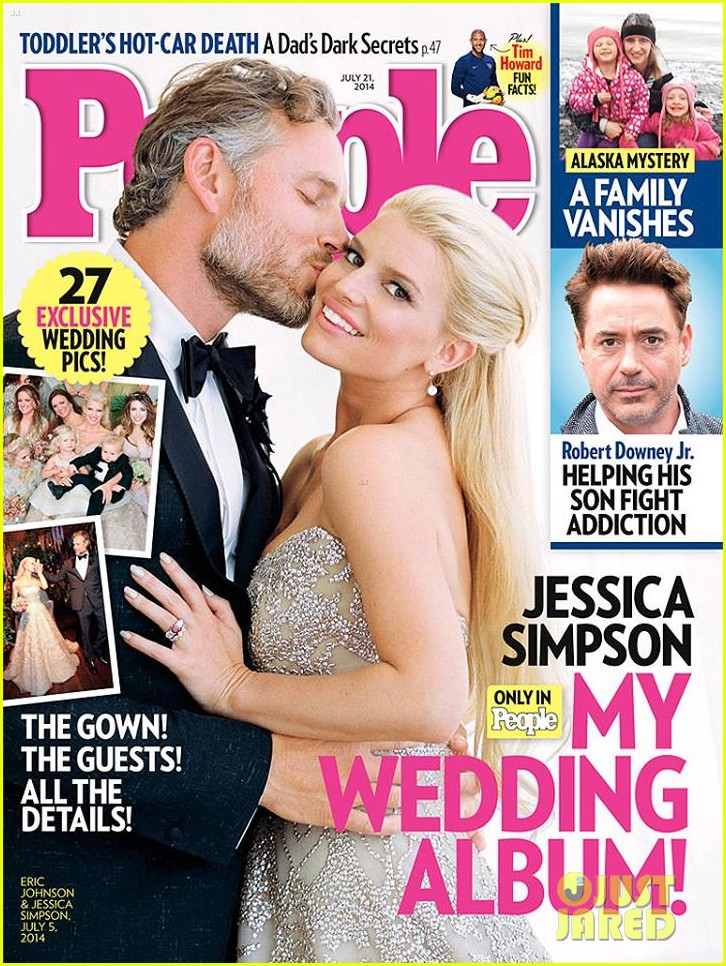 jessica simpson eric johnsons wedding photo see the pic 013152186